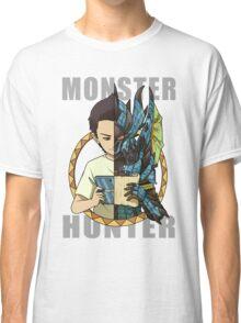 Monster Hunter Life (Azure Variant) Classic T-Shirt