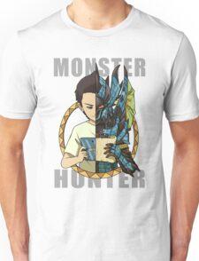 Monster Hunter Life (Azure Variant) Unisex T-Shirt