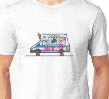 Wreck-ed Ice Cream Truck Unisex T-Shirt