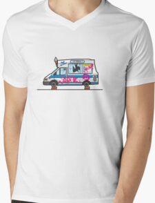 Wreck-ed Ice Cream Truck Mens V-Neck T-Shirt