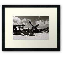 Wreck of the SS Mahino Framed Print