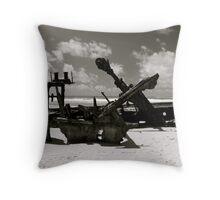 Wreck of the SS Mahino Throw Pillow