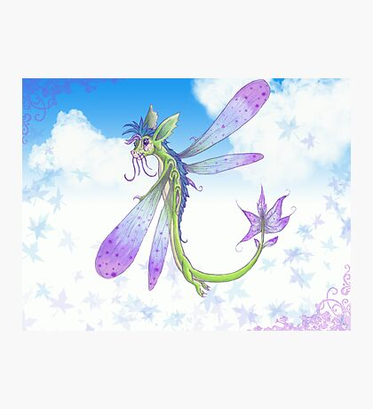 Dragonfly-by Photographic Print