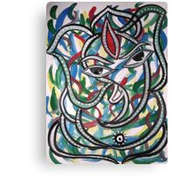 Ganesha Series Canvas Print