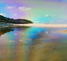 Rainbow Reflection by pictureit