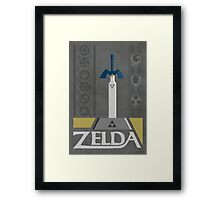 LoZ:  Ocarina of Time Framed Print