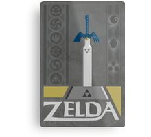 LoZ:  Ocarina of Time Metal Print