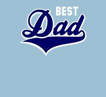 BEST Dad Tail-Design 2C Navy/White Unisex T-Shirt