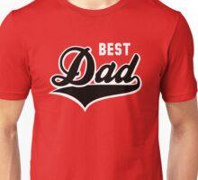 BEST Dad Tail-Design 2C Black/White Unisex T-Shirt