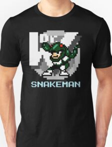 Snake Man with Text T-Shirt