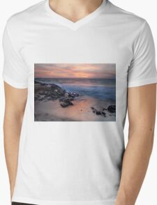 Hungry Hollow at Sunset Mens V-Neck T-Shirt