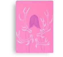 Pink Metamorphosis Canvas Print