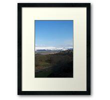 Dyfi Treeline Framed Print