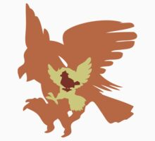 PKMN Evo Family - #016 Pidgey by dangerliam