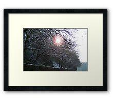 Warm cold Framed Print