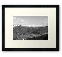 Welsh seen Framed Print