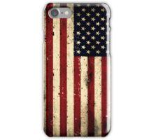 Retro USA Flag iPhone Case/Skin