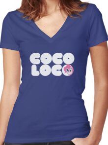 Brony - Coco Loco Women's Fitted V-Neck T-Shirt