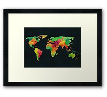 We are colorful Framed Print