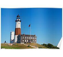 Montauk Point Light Poster