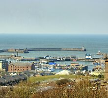 Whitehaven Harbour by Jamie  Green