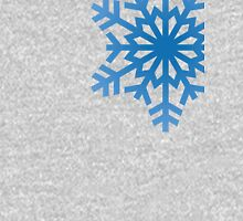 Simple snowflakes Women's Fitted Scoop T-Shirt