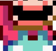 Super Mario World victory pose Sticker