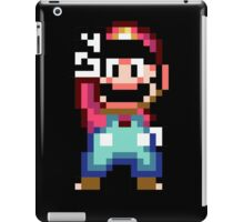Super Mario World victory pose iPad Case/Skin