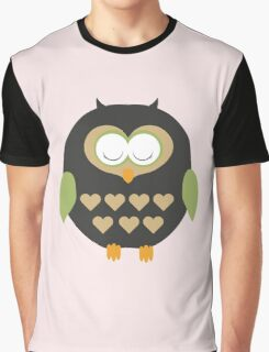 Sleeping owl  Graphic T-Shirt