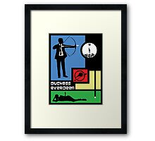 The Archer Games Framed Print