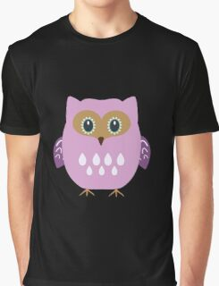 Pink owl  Graphic T-Shirt
