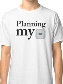 Planning My Classic T-Shirt