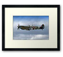 Supermarine Spitfire Mk IX PL344/T-LB G-IXCC Framed Print