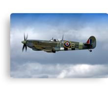 Supermarine Spitfire Mk IX PL344/T-LB G-IXCC Canvas Print