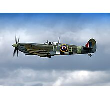 Supermarine Spitfire Mk IX PL344/T-LB G-IXCC Photographic Print