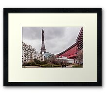 Paris: Eiffel Tower  Framed Print