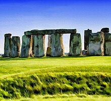 Stonehenge, Wiltshire, UK by Andrew Harker