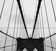 Brooklyn Bridge by natalie angus