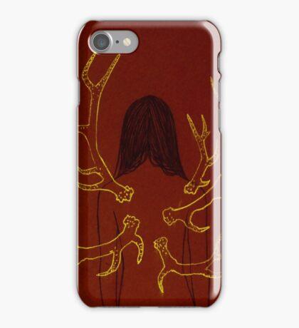 Maroon Metamorphosis iPhone Case/Skin