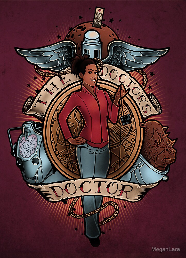 The Doctor's Doctor - PRINT by MeganLara