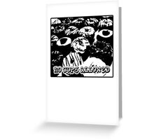 no cops allowed Greeting Card