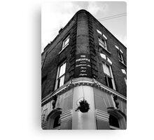 The Pineapple Pub Kentish Town London Canvas Print