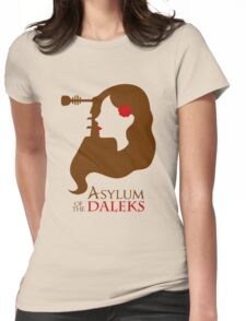 Asylum of the Daleks Womens Fitted T-Shirt