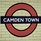Camden Town Tube Station by lanesloo