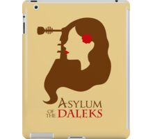 Asylum of the Daleks iPad Case/Skin