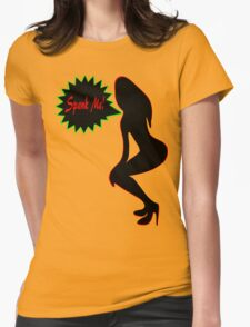 ★ټSpank Me-Naughty Bewitching Woman on Stiletto Heels Clothing & Stickersټ★ T-Shirt