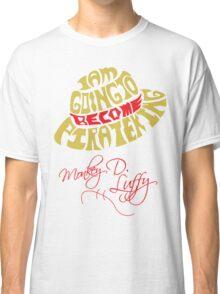 Mugiwara Typography Classic T-Shirt