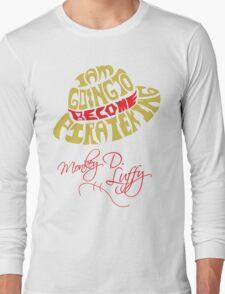Mugiwara Typography Long Sleeve T-Shirt