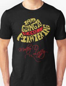Mugiwara Typography Unisex T-Shirt