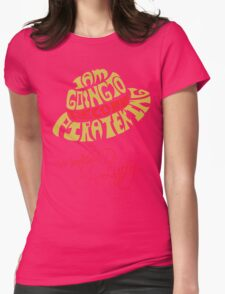 Mugiwara Typography Womens Fitted T-Shirt